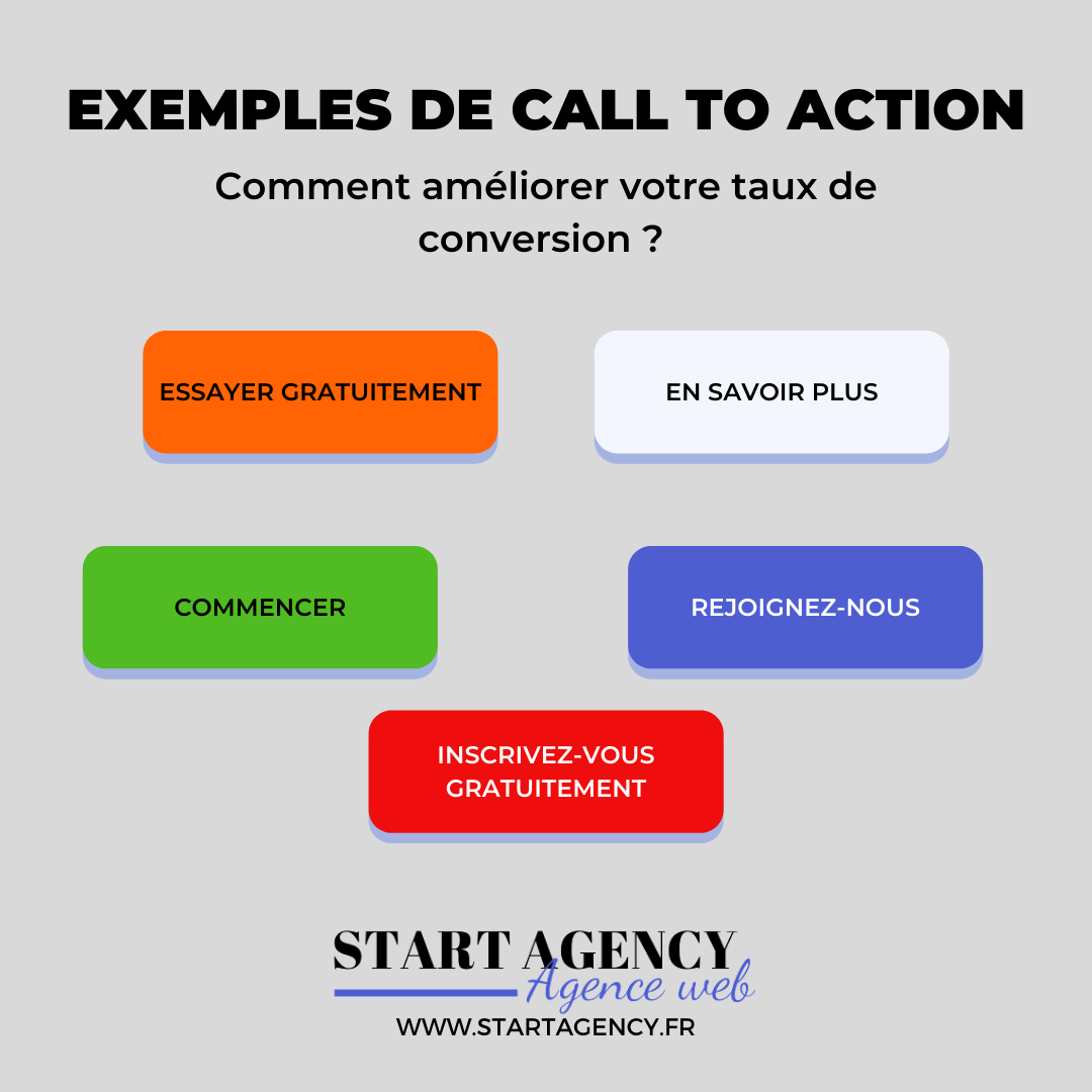 infographie call to action