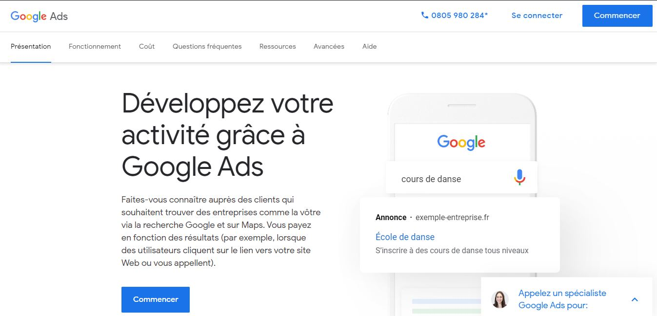 outil google ads