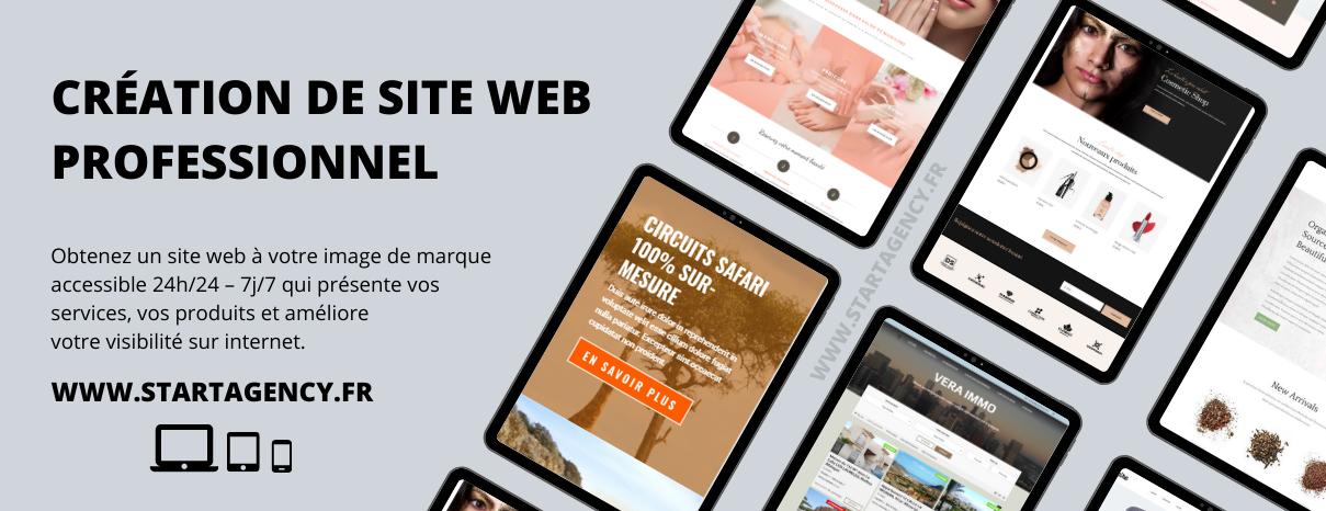 Affiche site web